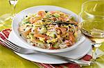 Raw Choucroute salad