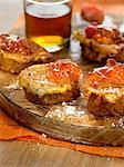 French Toast mit Marmelade orange