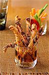 Flaky pastry aperitif sticks