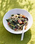 Légumes et bulghour quatre épices Tajine