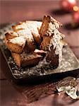 Gâteaux de miel en forme d'arbre de Noël