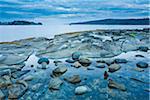 Gabriola Passage View From Drumbeg Provincial Park, Strait of Georgia, Gabriola Island, British Columbia, Canada