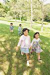 Children Having Fun in Park