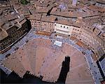 Campo Square, Siena, Italy