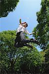 Kaufmann springen