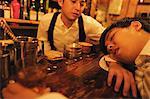 Drunk Businessman at Bar