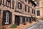 France, Tarn, Sorèze.  Maison Leignes, an old 17th century dye maker's house, Sorèze.