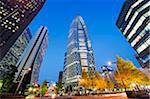 Asia, Japan, Tokyo, Shinjuku, Tokyo Mode Gakuen Cocoon Tower, Design School building
