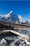 Asia, Nepal, Himalayas, Sagarmatha National Park, Solu Khumbu Everest Region, Unesco World Heritage, Ama Dablam (6812m)