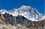 Asie, Népal, Himalaya, Parc National de Sagarmatha, Solu Khumbu région de l'Everest, Cho Oyu (8201m) de Gokyo, patrimoine de l'Unesco