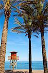 Beach of Torremolinos, Costa del Sol, Andalusia, Spain