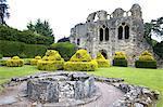 England, Shropshire, Much Wenlock, prieuré, St Michael chapel