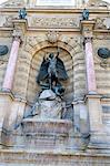 France, Paris, St Michael fountain