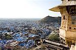 Vue du Palais Inde, Rajasthan, Bundi