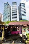 Quartier de Kampung Baru, Kuala Lumpur, la Malaisie