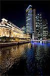 Singapour, l'hôtel Fullerton