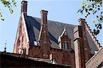 Belgium, Bruges, ancient houses