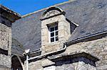 France, Pays de la Loire, Piriac-sur-Mer, architecture détail