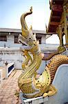Thaïlande, Chiang Mai, temple Wat Phra Singh