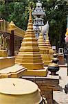 Thaïlande, Chiang Mai, temple Wat Lok Moli