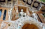 Thailand, Chiang Mai, Wat Lok Moli temple, statues
