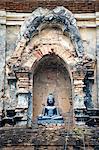 Thaïlande, Chiang Mai, temple Wat Lok Moli, Bouddha