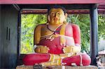 Thaïlande, Chiang Mai, Wat Chedi Luang temple, Bouddha