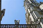 France, Paris, church of saint germain l'auxerrois, angel