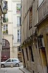 France, Paris, ruelle