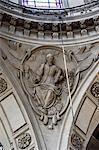 France, Paris, église de Saint Paul, sculpture
