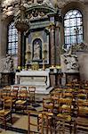 France, Paris, église de Saint Paul, la chapelle dans le transept