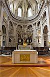 France, Paris, église de Saint Paul, intérieur