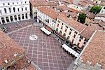 Italy, Lombardy, Bergamo, Piazza Vecchia