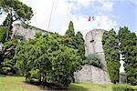 Italy, Lombardy, Bergamo, fortress