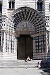 Italie, Ligurie, Gênes, duomo di San Lorenzo