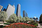 United States, Illinois, Chicago, Millennium park, Jay Pritzker pavilion