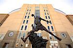 United States, Illinois, Chicago, statue of Michael Jordan