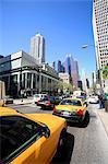 United States, Illinois, Chicago, cabs