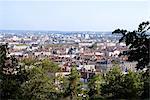 France, Rhone Alpes, Lyon, vue générale