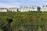 France, Paris (75), Ile de France, Carrousel garden
