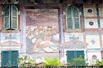 Italy, Verona, piazza delle erbe, facade