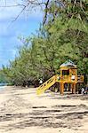 Barbade, plage de bain