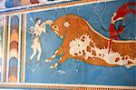 Greece, Crete, Cnossos, archeological site