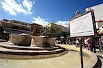 Greece, Crete, Heraklion, Morosini fountain
