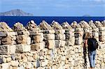 Grèce, Crète, Héraklion, fort vénitien, détail