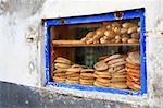 Morocco, Essaouira, the souk, baker