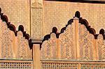 Détails architecturaux Maroc, Marrakech,