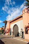 Morocco, Marrakech, hotel