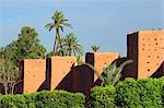 Morocco, Marrakech, remparts of the medina