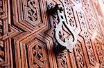 Morocco, Marrakech, door